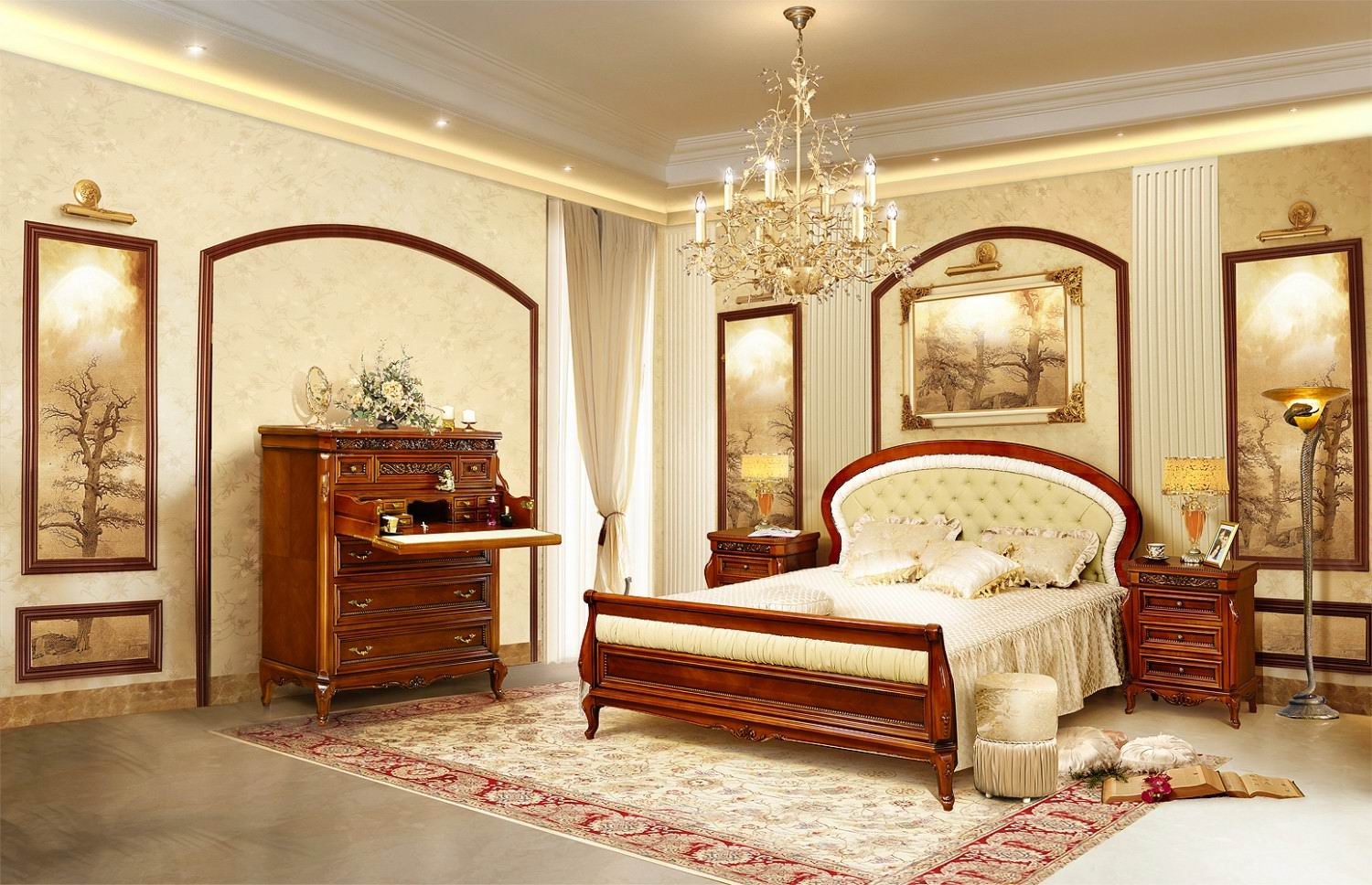 mobilier dormitor verona crem mobila regal iasi. Black Bedroom Furniture Sets. Home Design Ideas
